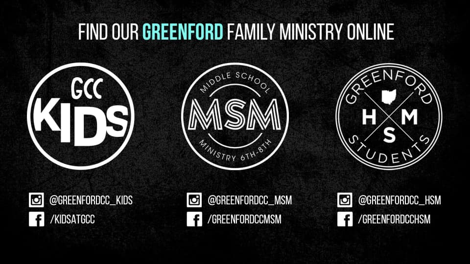 Find our Greenford Family Ministry Online